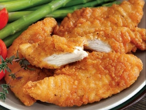Chicken STRIPS (tenders) w/ Choice Side/Snack