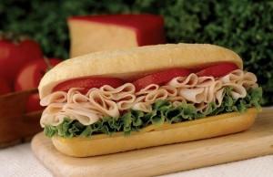 TURKEY BREAST Sandwich w/ Choice Side/Snack Image