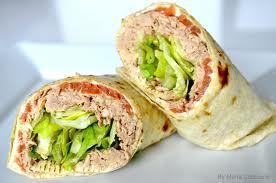 TUNA SALAD Sandwich w/ Choice Side/ Snack Image