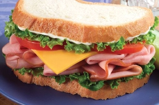 HAM Sandwich w/ Choice Side/Snack Image