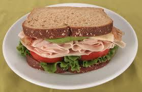 Turkey CLUB Sandwich w/ Choice Side/Snack Image