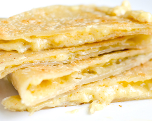 CHEESE Quesadilla w/ Choice Side/Snack Image