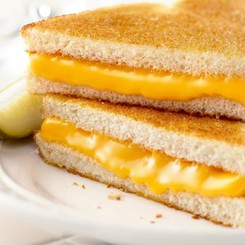 GRILLED CHEESE w/ Choice Side/Snack Image