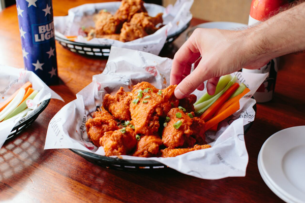 Tray of Wings - Small Image