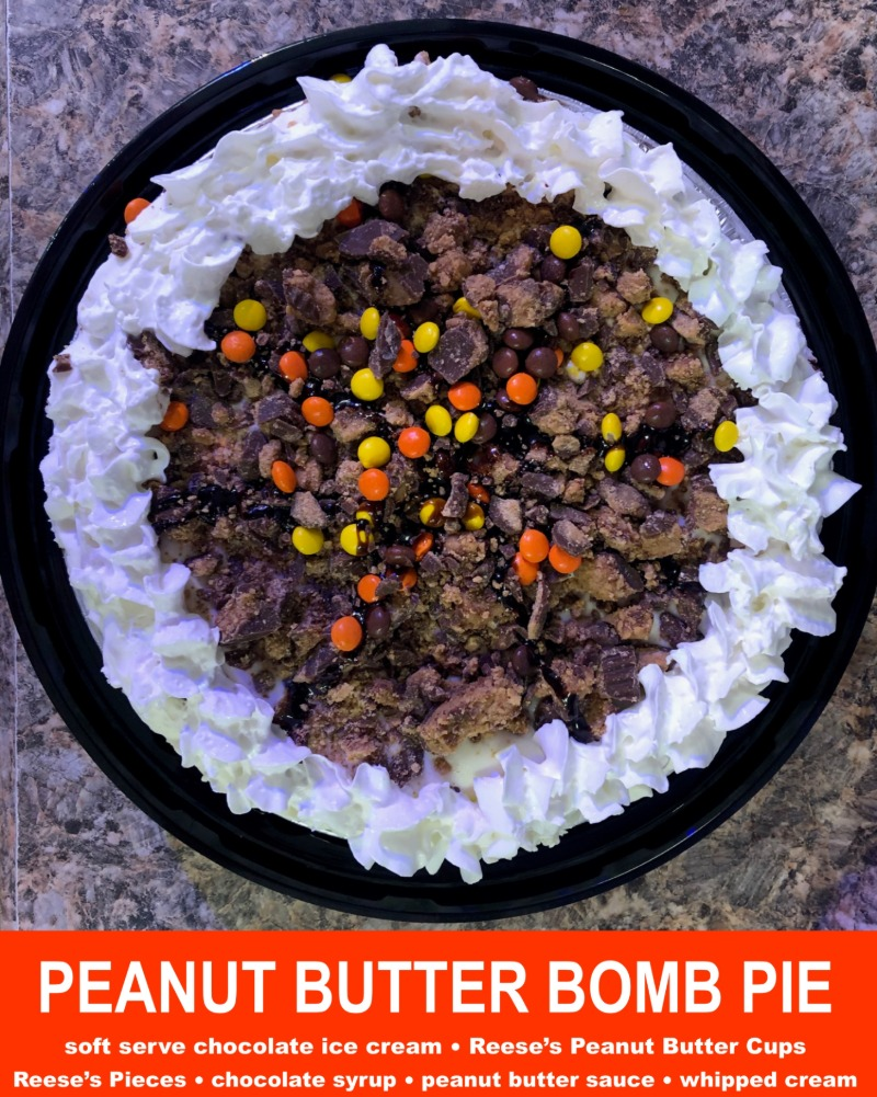 Peanut Butter Bomb Pie Image