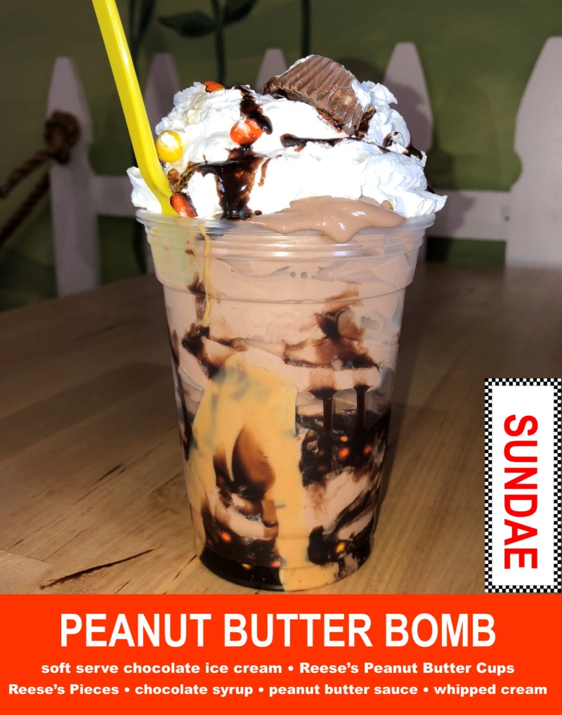 Peanut Butter Bomb Sundae Image