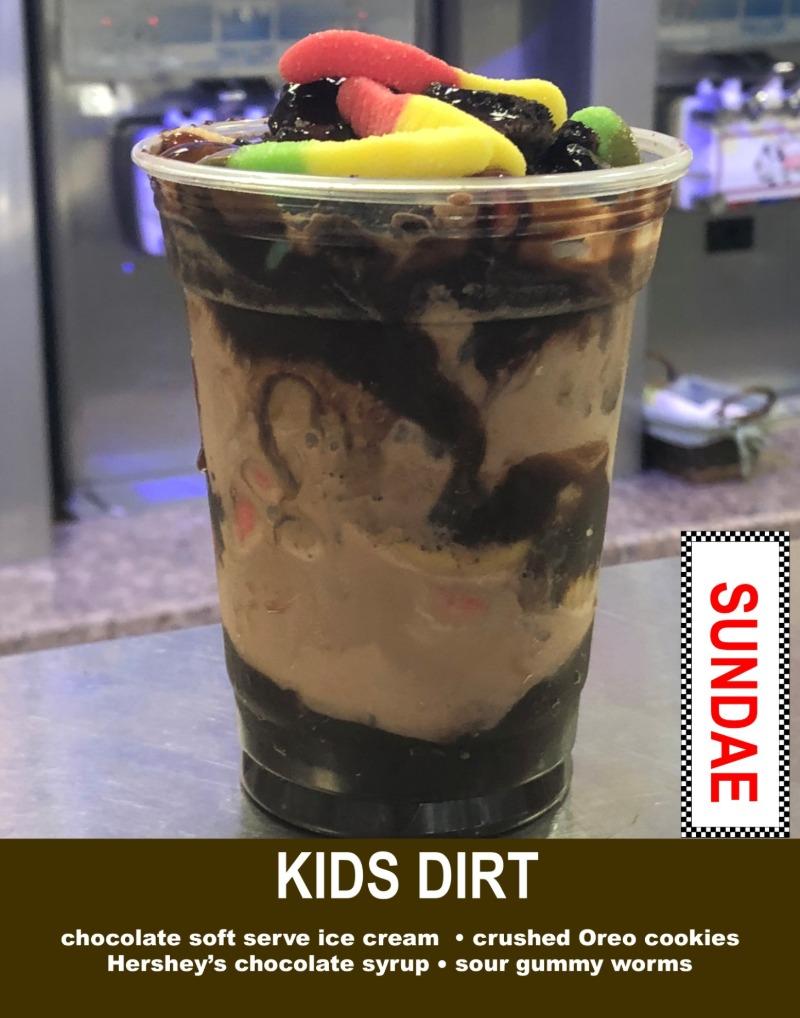 Kids Dirt Sundae