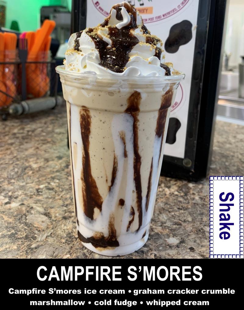 Campfire S'Mores Shake Image