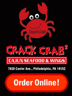 Order Online from Crack Crab at Castor Ave