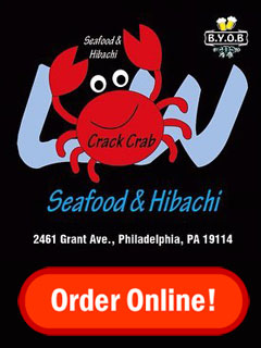Order Online from Crack Crab at Grant Ave