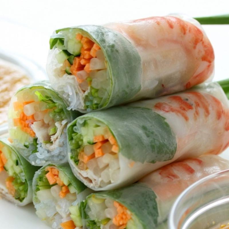 Summer Rolls Shrimp (3 Rolls)