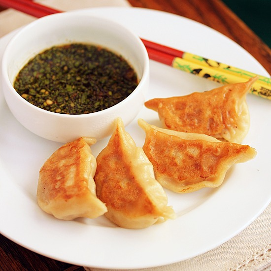 Steamed Chicken Pot Stickers (6 Pcs.) Image