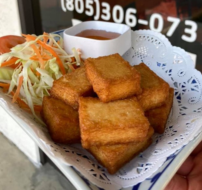 Golden Fish Tofu Image