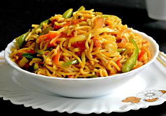 Hakka Veg Noodles Image