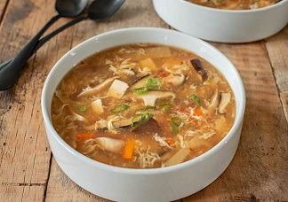 Hot & Sour Veg Soup Image