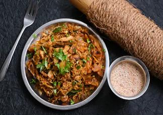 Chicken Kothu Paratha Image