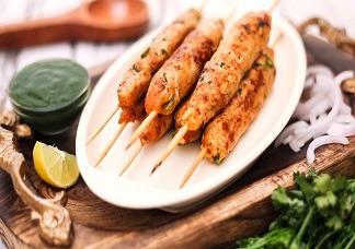 Chicken Seekh Kebab Image