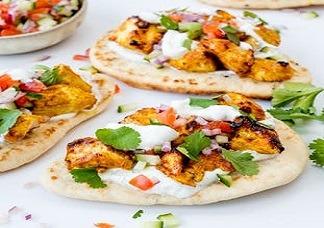 Chicken Tikka Naan Image