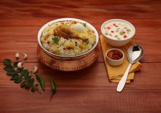 Hyderabad Chicken Dum Biryani Image