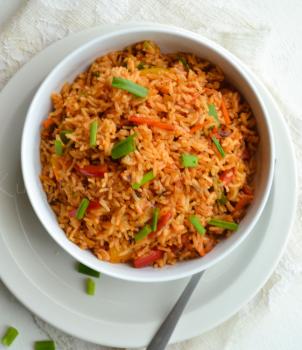 Special Schzewan Veg Fried Rice