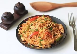 Special schzewan Chicken Noodles Image