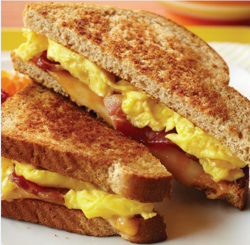 Classic Egg Sandwich Image