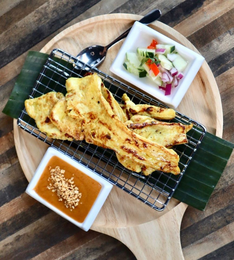 Thai Street Chicken Satay Image