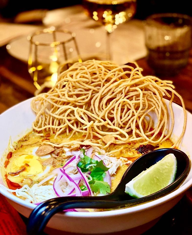 Khao Soi Kai (noodles curry) Image