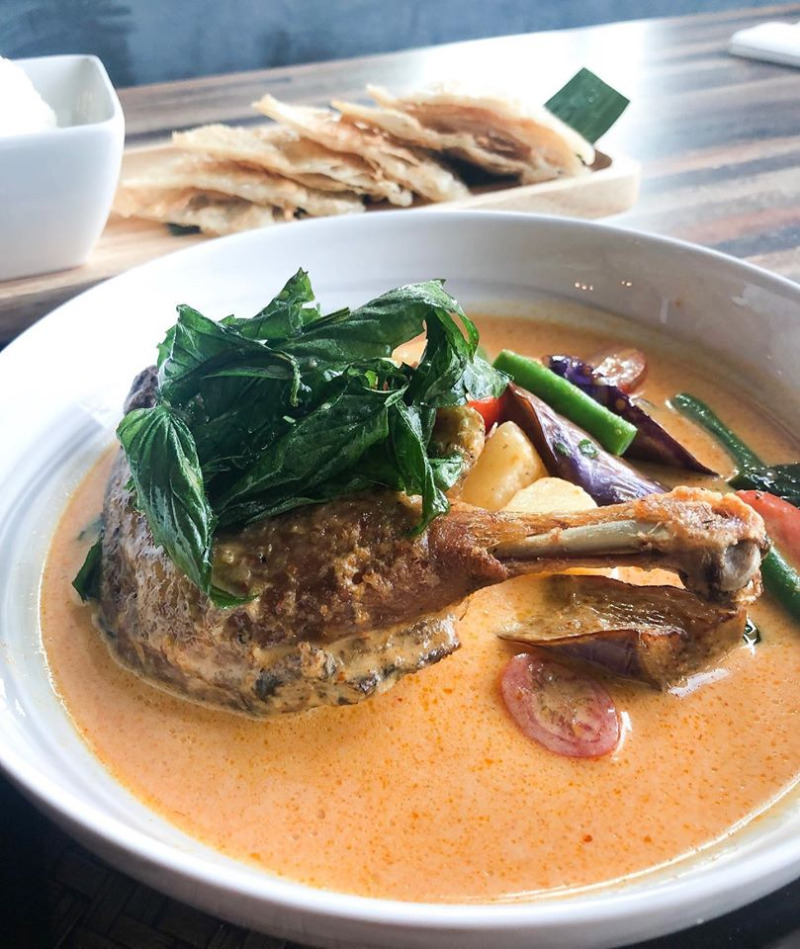 Roti - Duck Curry Image