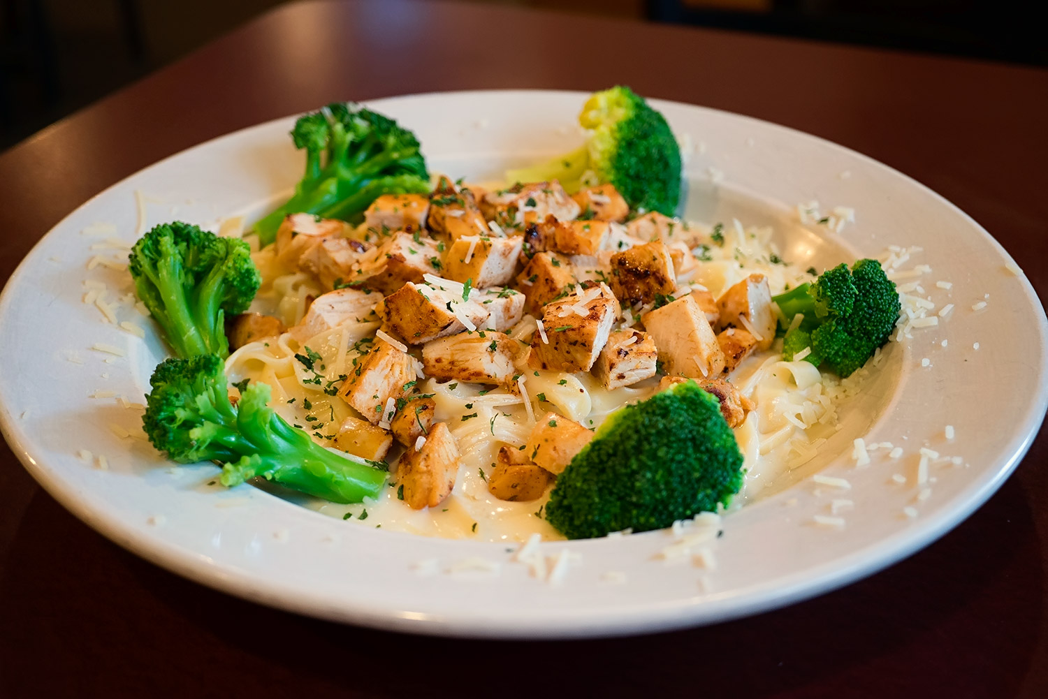 Chicken Alfredo Image