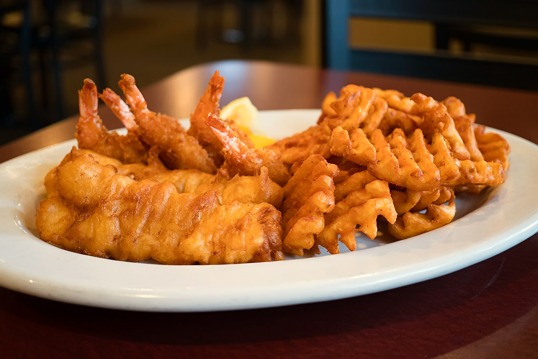 Fish & Shrimp Platter Image