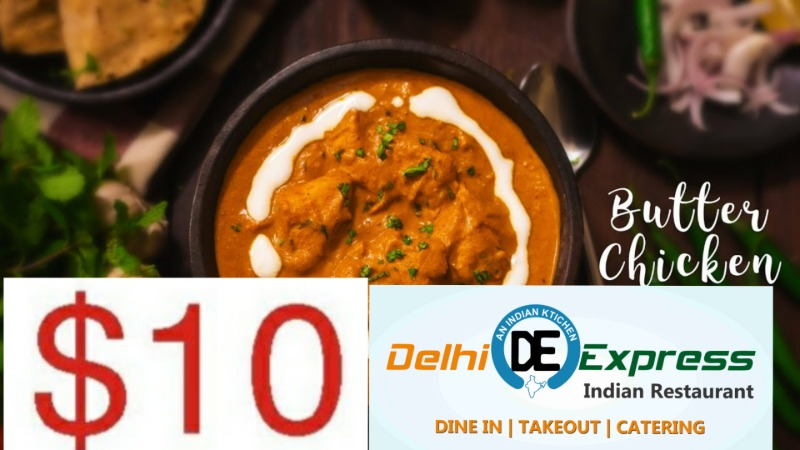 Tuesday Special - Butter Chicken Image