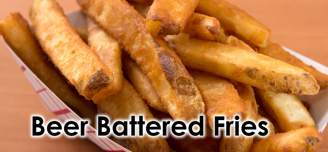 Beer battered fries Image