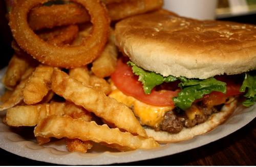 Cheeseburger Plate Image