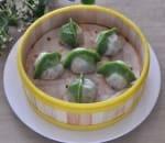 4. Steamed Vegetable Dumpling (6)
