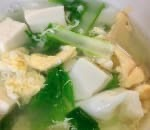 15. Vegetable Tofu Soup