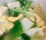 15. Vegetable Tofu Soup Image
