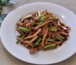 42. Shredded Pork w. Celery & Dry Bean Curd