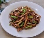 42. Shredded Pork w. Celery & Dry Bean Curd Image