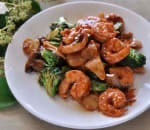 55. Prawn w. Mixed Vegetable