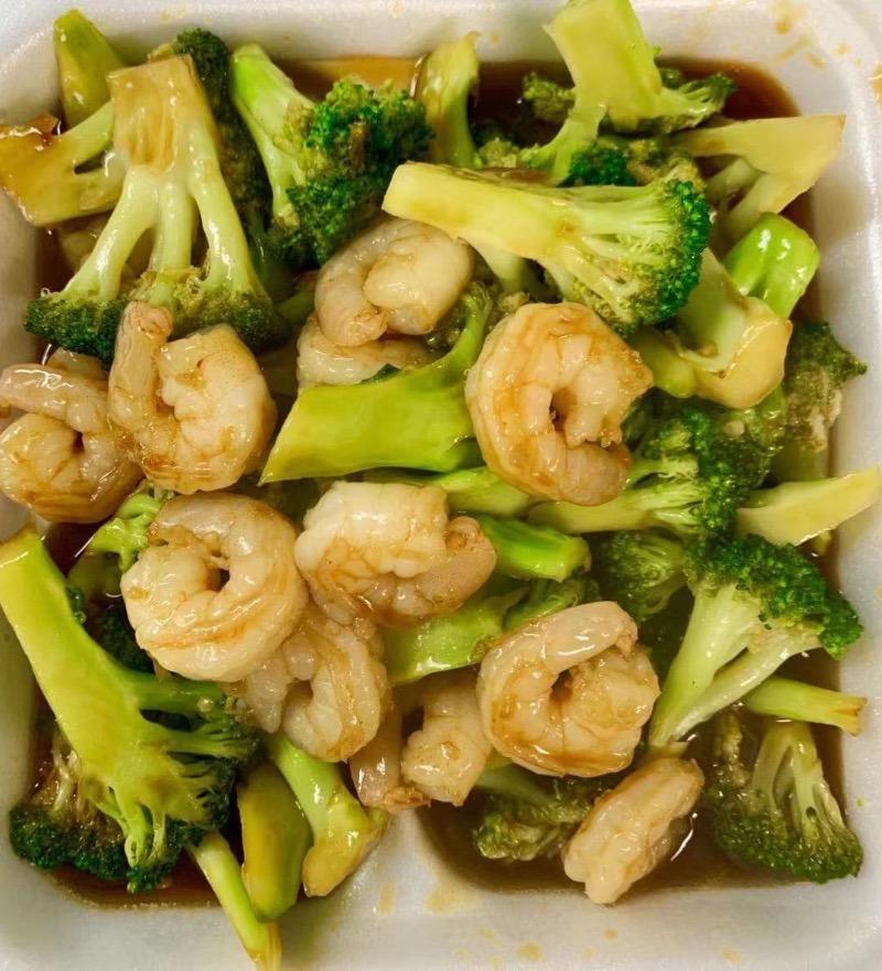 L. Shrimps w. Broccoli