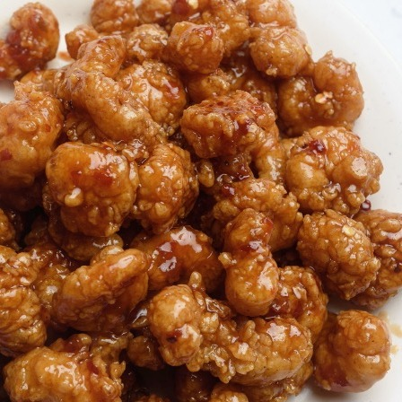L. General Tso's Shrimp