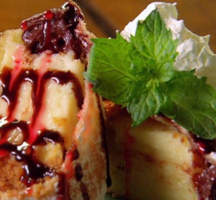 Fried Cheese Cake Image