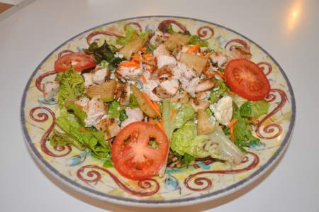 Chicken, Apple and Currant Salad