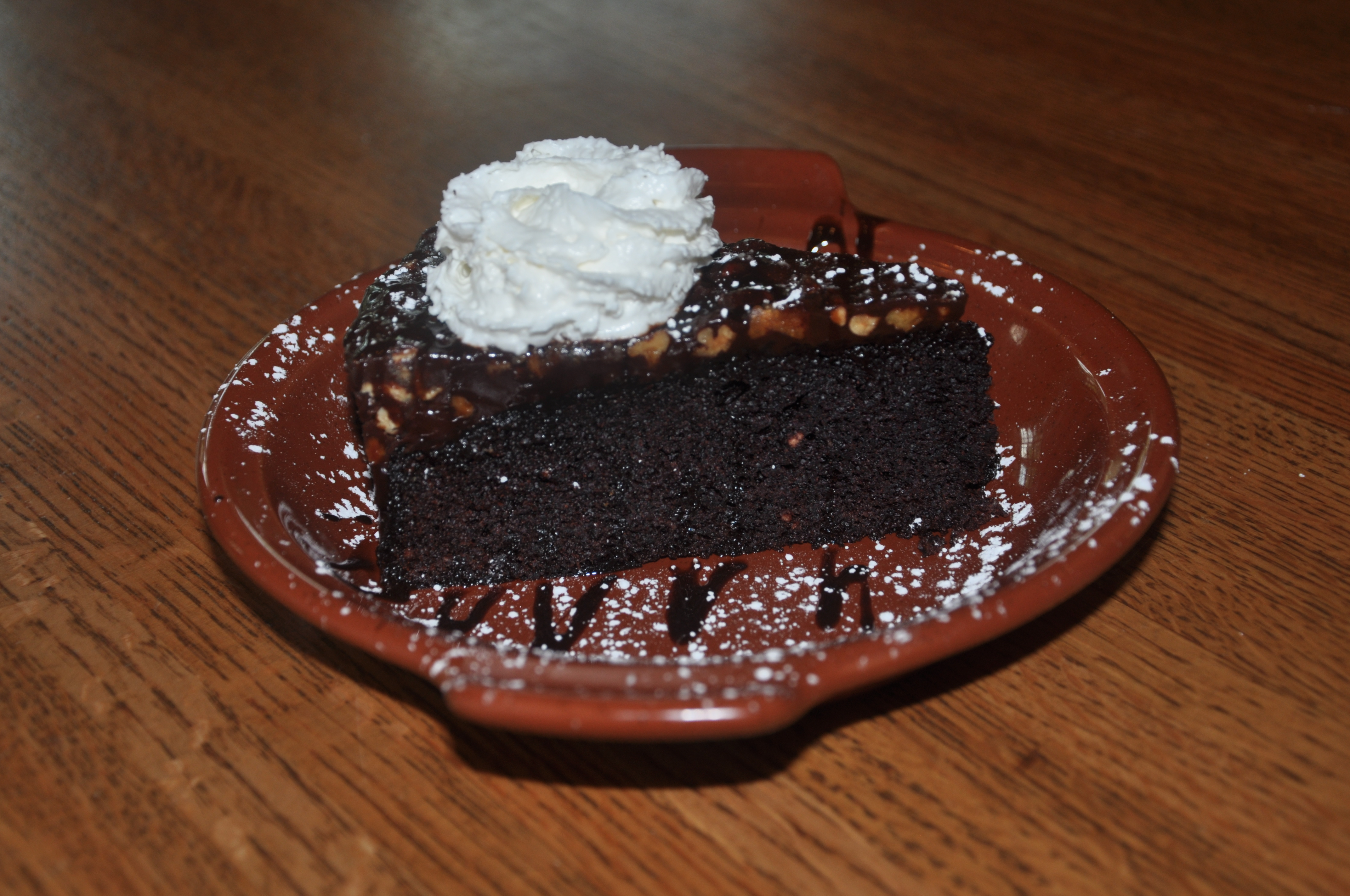 Chocolate-Pecan Cake Image