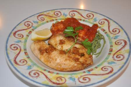 Potato Crusted Cod Image