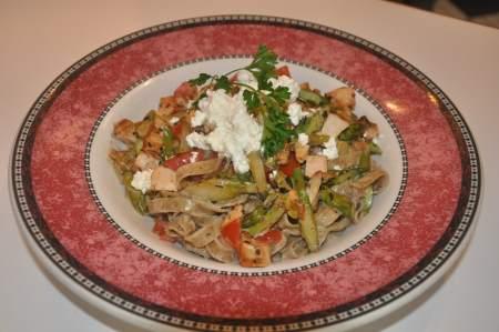 Chicken Asparagus Sauté  Sauce Image