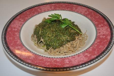 Fresh Basil Pesto Sauce Image