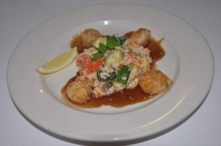 Maple Soy Sea Scallops Image