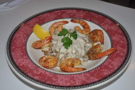 Herb-Garlic Jumbo Shrimp Image